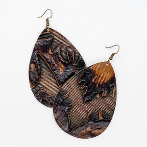 Deep Cognac Earrings
