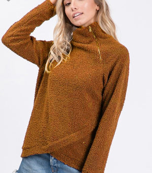 Mocha Pullover Sweater