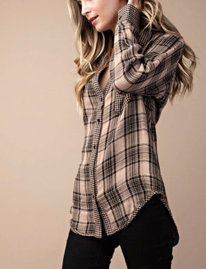Taupe Flannel