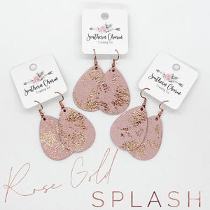 Rose Gold Splash