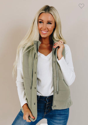 Light Green Vest