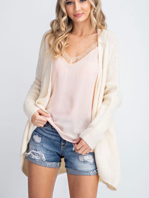 Ivory Sweater Cardigan