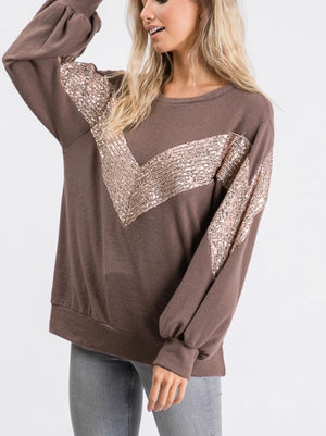 Chevron Sequin