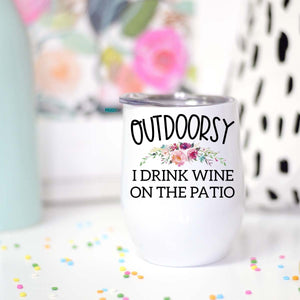 Outdoorsy Travel Cup