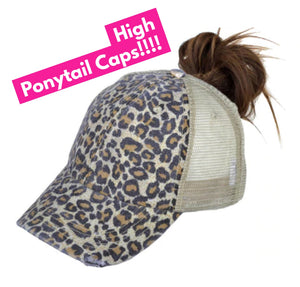 High Pony Cap