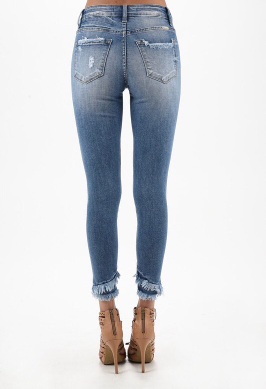 Double Frayed Skinny