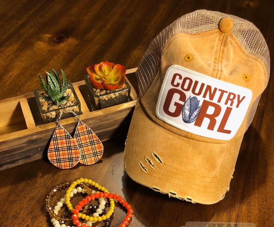 Country Girl Hat🌽