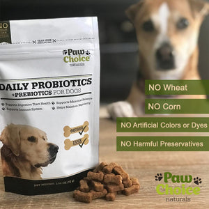 Probiotics for Dogs with Prebiotics | 60 Soft Chews