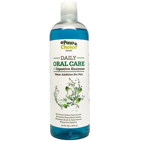Dog Oral Care Water Additive Plus Digestive Enzymes