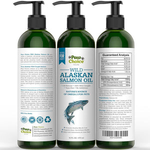 Wild Alaskan Salmon Oil For Pets | 16oz