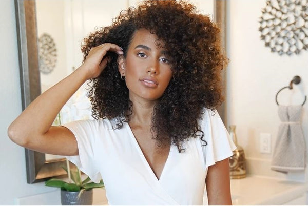 Aleja Briles on Her Everyday Wash-and-Wear Curl Routine