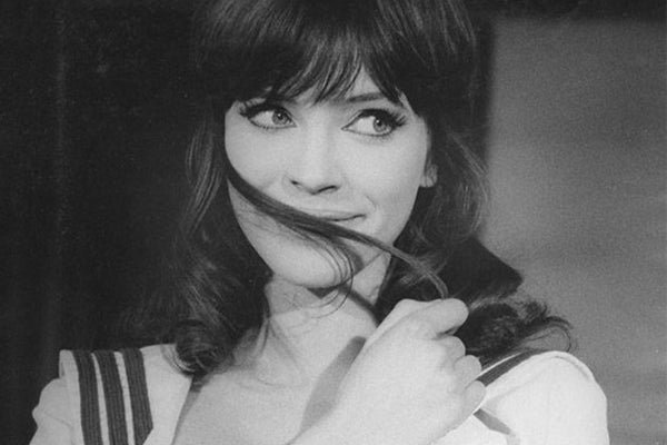 Girls on Film: Anna Karina's Bangs in A Woman Is A Woman