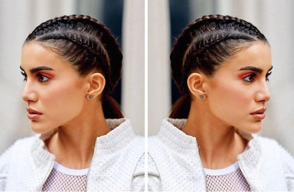 How-To: Camila Coelho's Sporty Festival Braids