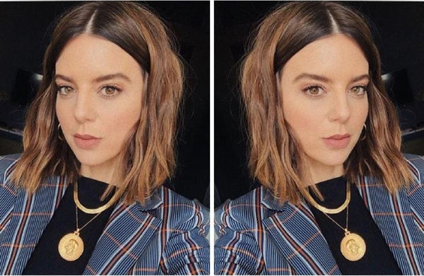 How-To: Fake Air-Dried Waves on Short Hair