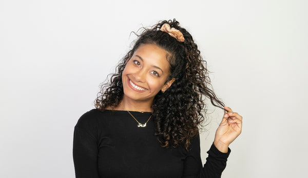 The Perfect Work Wash-and-Go for Curly Hair