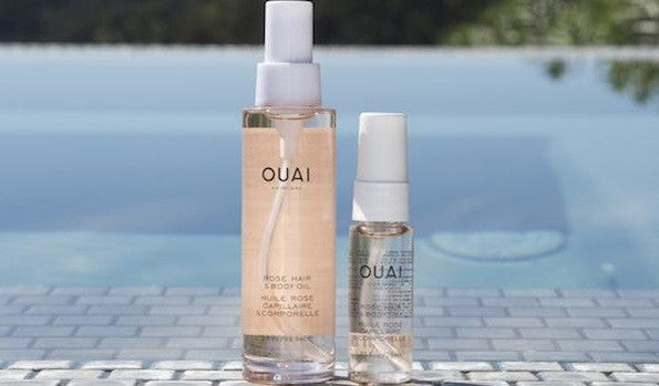 Introducing: OUAI Rose Hair & Body Oil