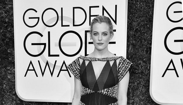 How to: Riley Keough's Golden Globes Updo