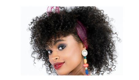 Halloween How-To: Whitney Houston's '80s Scarf Bow Curls