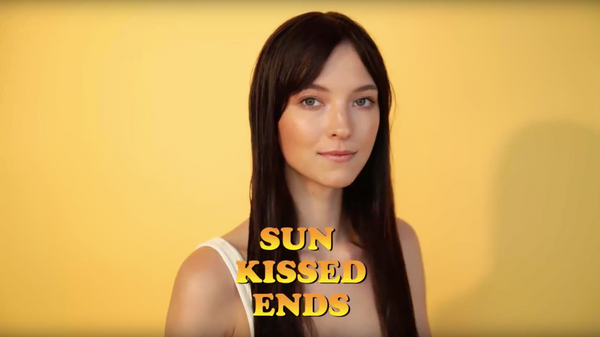How-To: Sun-Kissed Ends with Sun of a Beach