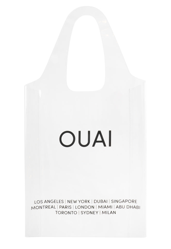 OUAI Clear Shopper