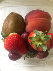 Fruit combo (kiwi, strawberries, peach and grape) - Farmgate E-Market