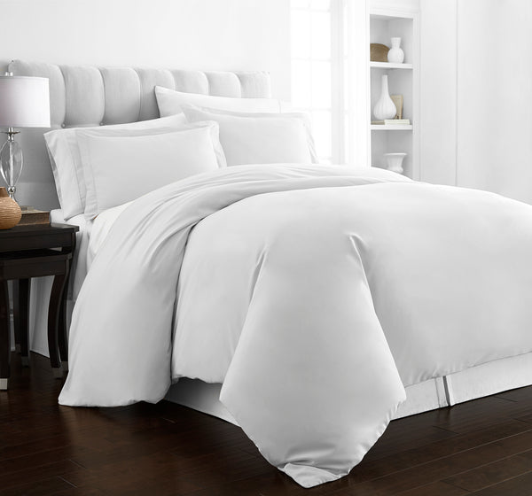 Beckham Hotel Collection Luxury Soft Brushed 2100 Series Microfiber Duvet Cover Set - Hypoallergenic