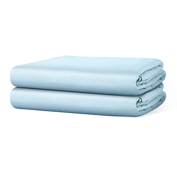 Beckham Hotel Collection Fitted Sheet (2-Pack) - Soft-Brushed Microfiber with Deep Pocket