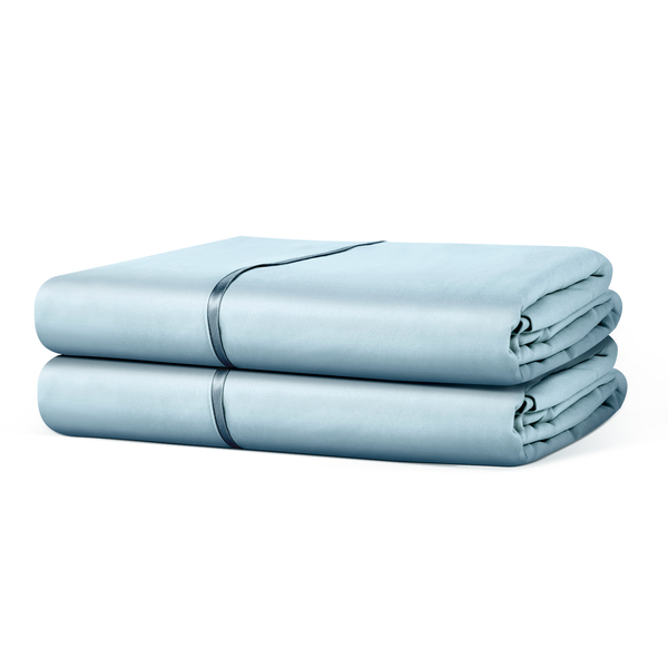 Beckham Hotel Collection Luxury Flat Sheet (2-Pack) - Luxurious Soft-Brushed Microfiber, Hypoallergenic and Stain Resistant
