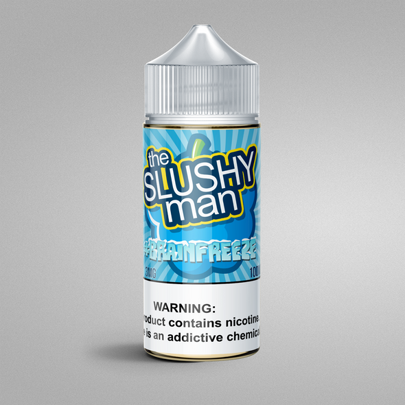 #BRAINFREEZE - 100ML (The Slushy Man), E-Juice, The Slushy Man E-liquid 100ML, 15ml, 30ml, 60ml, 120ml, - E-juice Enterprise