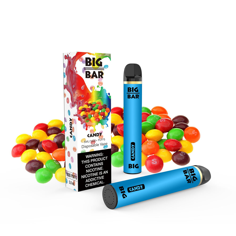 Big Bar Disposables (1600 Puffs)