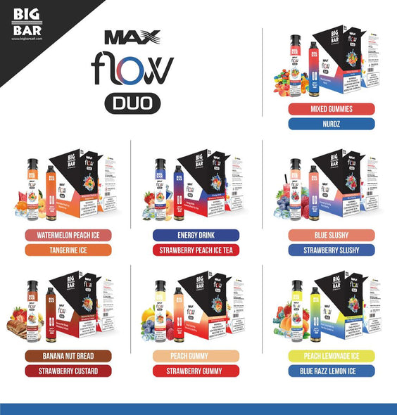 Big Bar MAX FLOW DUO 4000 PUFFS