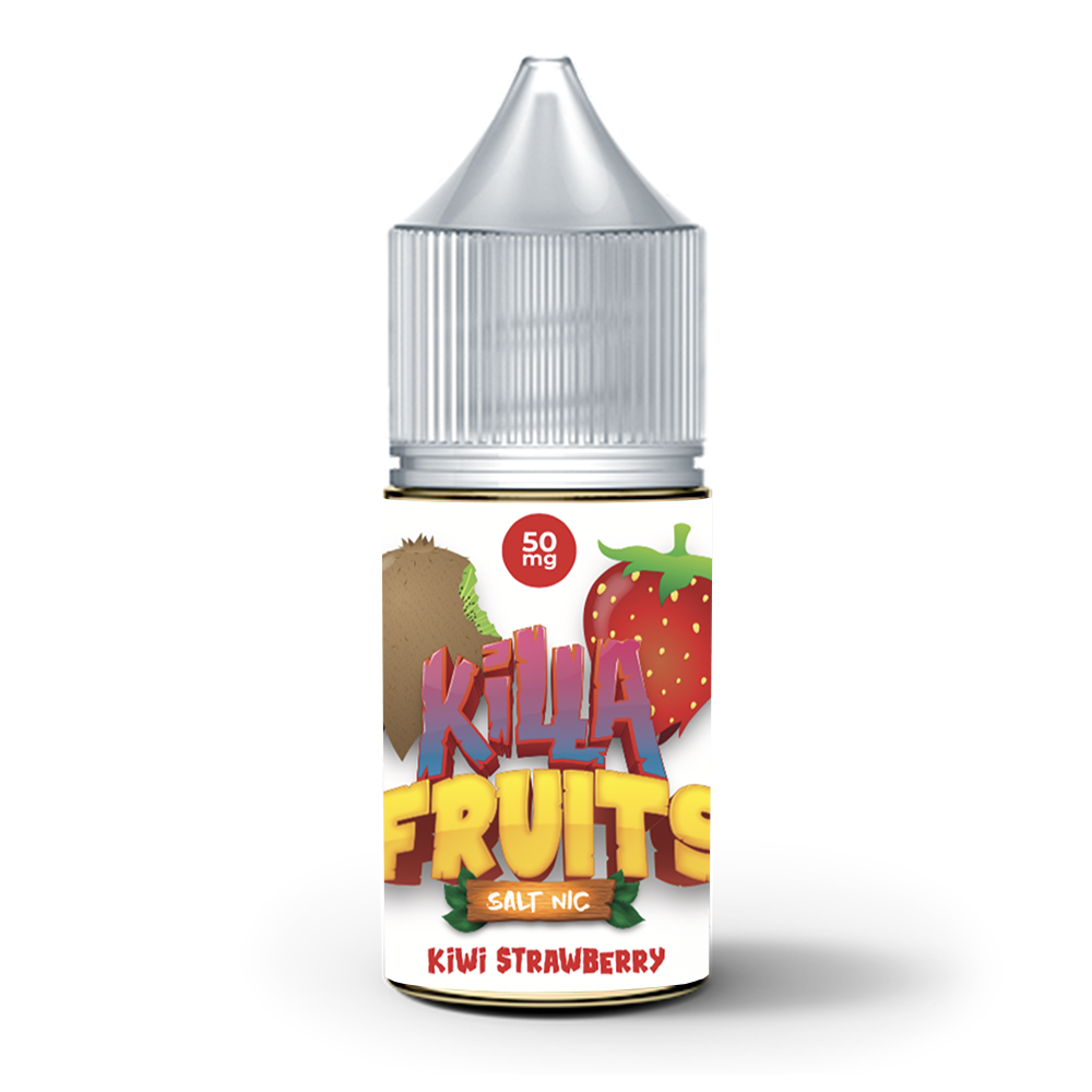 Kiwi Strawberry Salt Nic (Killa Fruits), , Killa Fruits Salt Nic, 15ml, 30ml, 60ml, 120ml, - E-juice Enterprise