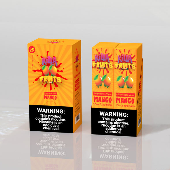 Mango Disposable, , KF Dis, 15ml, 30ml, 60ml, 120ml, - E-juice Enterprise
