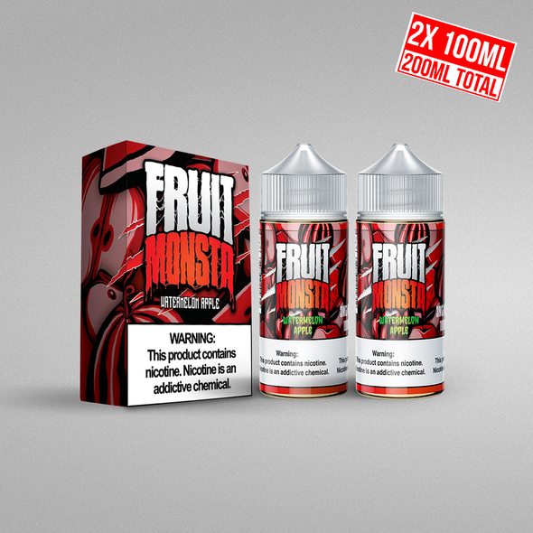Watermelon Apple (Fruit Monsta), , fruit monsta, 15ml, 30ml, 60ml, 120ml, - E-juice Enterprise
