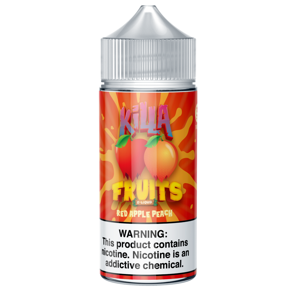 Red Apple Peach (Killa Fruits), , Killa Fruits, 15ml, 30ml, 60ml, 120ml, - E-juice Enterprise