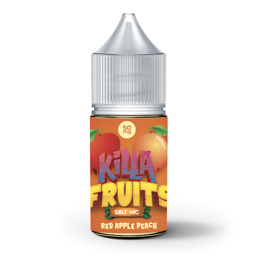Red Apple Peach Salt Nic (Killa Fruits), , Killa Fruits Salt Nic, 15ml, 30ml, 60ml, 120ml, - E-juice Enterprise