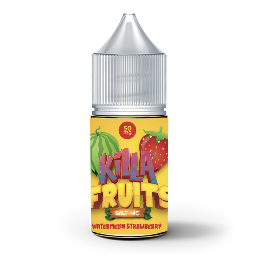 Watermelon Strawberry Salt Nic (Killa Fruits), , Killa Fruits Salt Nic, 15ml, 30ml, 60ml, 120ml, - E-juice Enterprise