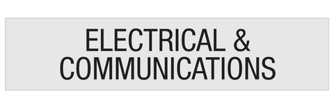 Electrical & Comms