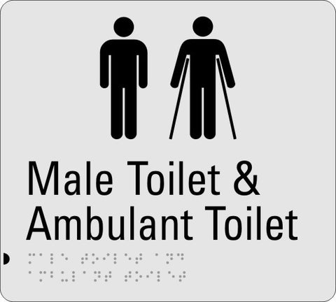 Male Toilet and Ambulant Toilet