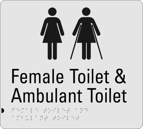 Female Toilet and  Ambulant Toilet