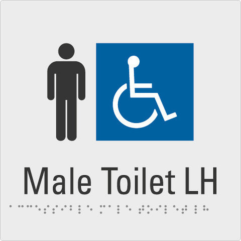 Male Toilet Left hand