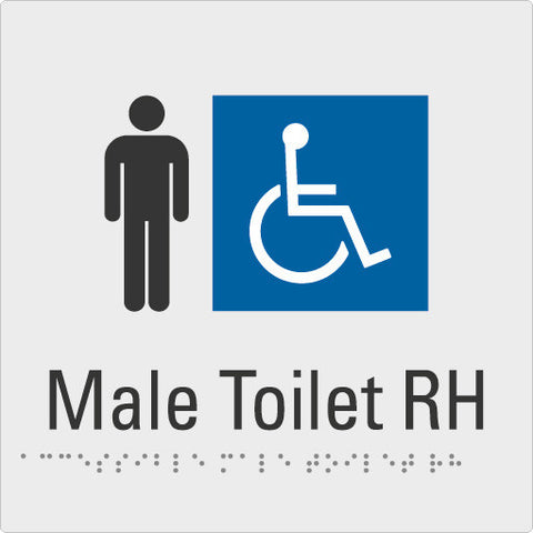 Male Toilet Right hand