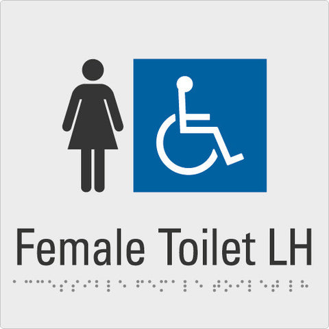 Female Toilet Left hand
