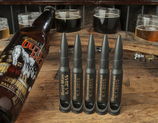 Black Bullet Bottle Openers