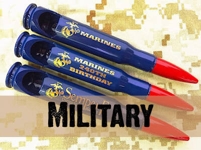 All Military Bullet Bottle Openers