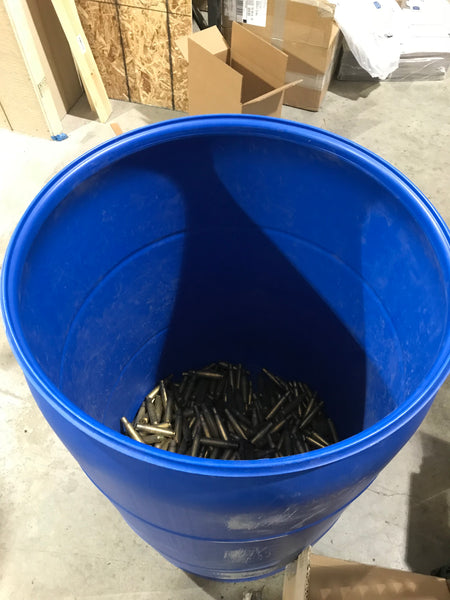.50 Caliber Brass Casings