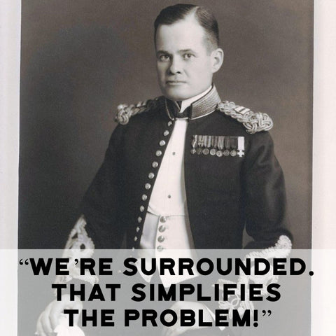 Chesty Puller as a young captain
