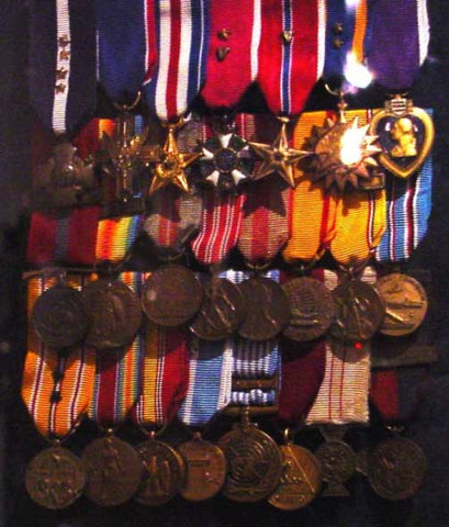 Chesty Puller Medals