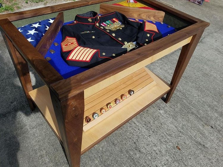 Custom Shadow Box Table