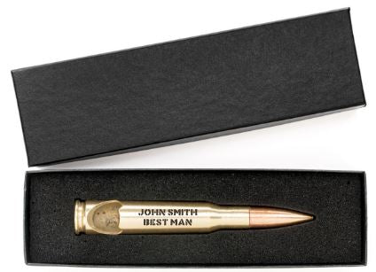 Groomsmen Gifts -- .50 Caliber Bottle Opener